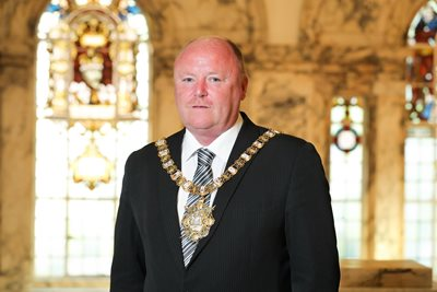 Lord Mayor Alderman Frank McCoubrey