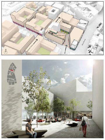 North Street - Public Space (illustrative map)