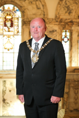 "Newly elected Belfast Lord Mayor's hopes for ""community spirit and cooperation"""