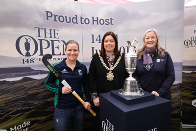 Lord Mayor joins Tourism NI for 'Epic Journey to The 148th Open'