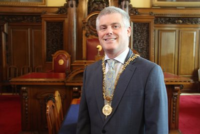 High Sheriff, Councillor Michael Long