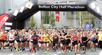 *Postponed* Deep RiverRock Belfast City Half Marathon 2020
