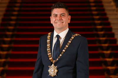 Lord Mayor of Belfast appeals to members of the public to stay at home