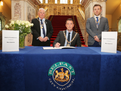 Book of Condolence opens in City Hall in memory of Nora Quoirin