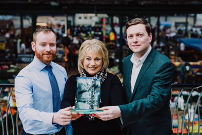 St George's celebrates Best Large Indoor Market Award