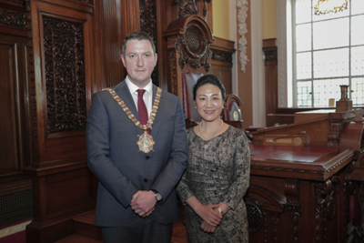 Belfast Lord Mayor showcases city to prestigious Chinese business and media delegation