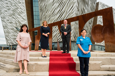 Titanic Belfast re-opens its doors with free admission for frontline NHS health workers