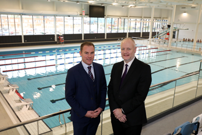 Brook and Lisnasharragh leisure centres to make a splash