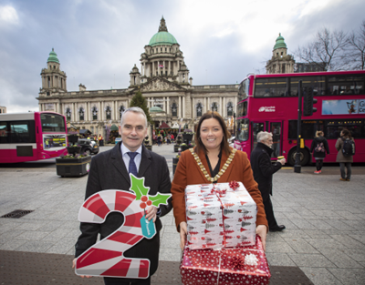 Council backs Translink's biggest festive travel campaign