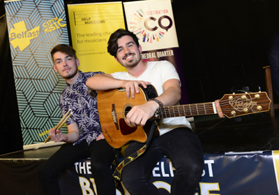 'Paul and the Meanie' crowned Busk Off Champions