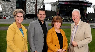 BBC Proms In The Park to light up the Titanic Slipways in Belfast