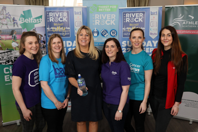 Official Charity Partners of the 7th Deep RiverRock Belfast City Half Marathon Another sell out year expected for the Deep RiverRock Belfast City Half Marathon!