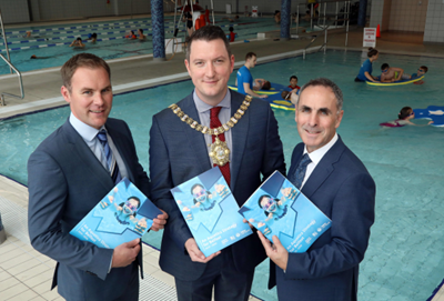 Kids can swim for £1 for next 10 days as Belfast aims to double pool usage by 2030