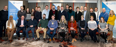 Lord Mayor attends NxNW Lean Launch Programme at QUB
