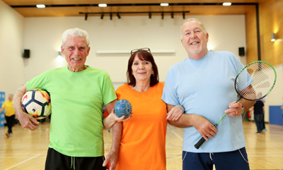 Girdwood Hub host Club Games to combat loneliness