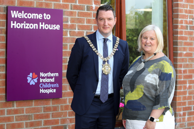 Lord Mayor announces NI Children's Hospice as one of his charity partners