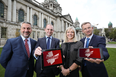 Belfast's connectivity boosted as Council secures its digital future