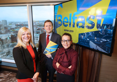 Belfast at MIPIM 2019 launches with plans to make Belfast region a global investment destination